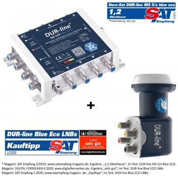DUR-line MS-S 5/8 Blue ECO - Multischalter Set