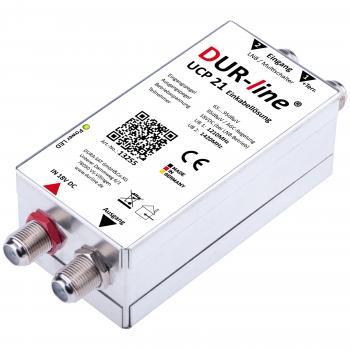 DUR-line UCP 21 - Einkabellösung 2 Teilnehmer an einem Koaxkabel SCR-Technologie nach Norm EN 50494