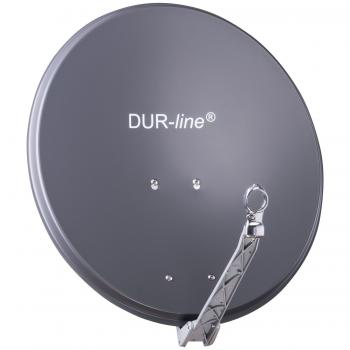 DUR-line Select 60/65 Anthrazit - Alu Sat-Antenne