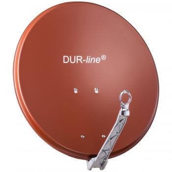 DUR-line Select 60/65 Rot - Alu Sat-Antenne