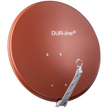 DUR-line Select 75/80 Rot - Alu Sat-Antenne