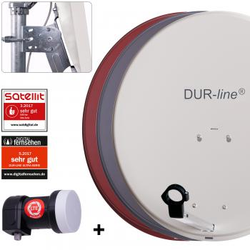 DUR-line MDA 60 + +Ultra Single LNB  1 Teilnehmer SET
